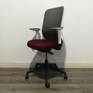 Used Orangebox Do Mesh Office Chair, Lumbar Support, Red / White